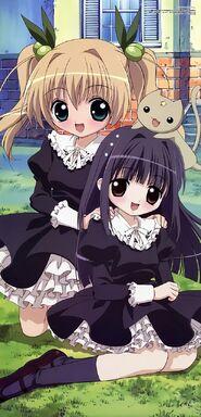 Himeka and karin cute