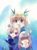 Kazune, karin, and himeka