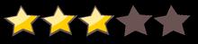 3 gwiazdki