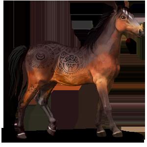 Legendarny dziki koń