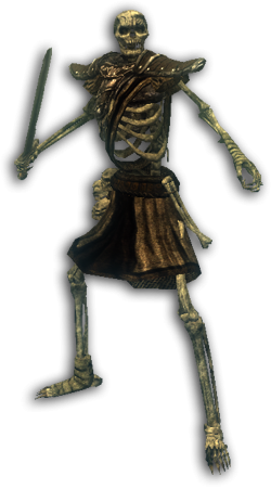 Szkielet wojownik