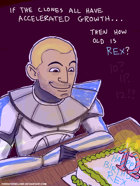 Captain Rex s Birthday by thehaydenclone