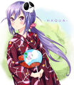 Haqua on a yukata.jpg