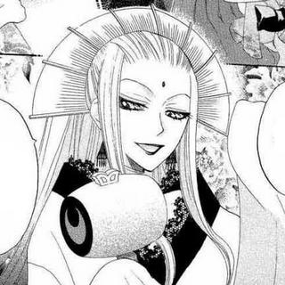 Si Tomoe desea tener otra vez su verdadera forma, deberá volverse familiar de Narukami.