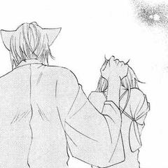 Tomoe dice a Nanami que no debe culparse de haber sido protegida por Jirou.