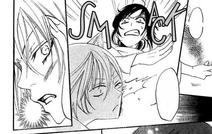 Cachetada da Nanami a Tomoe