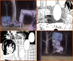Diferencias Manga - Anime- 01x01