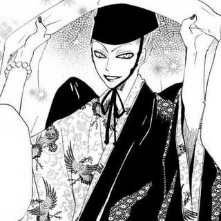 Kurama disfrazado de Dios de la Tierra.