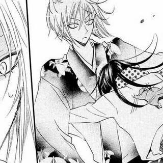 Asustada, Nanami corre a abrazar a Tomoe después de lo sucedido con Jirou.