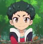 Yuto Holding Some Twigs