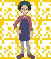 Yuto's Father From 'Kamiwaza Wanda'
