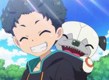 Wanda and Yuto's smile in summer