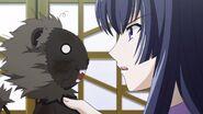 Shizuku hablando con Hiaburi Raion