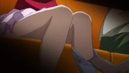 Shizuku removed Natsuru F's legwear