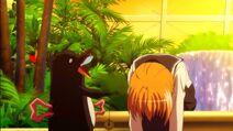 Bakuhatsu Penguin y Mikoto Kondō