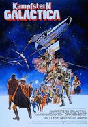 Kampfstern Galactica Filmplakat