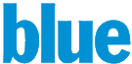 Blue music channel logo
