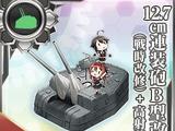 Pháo cao xạ 2 nòng 12.7cm Mẫu B Kai 4 +AAFD