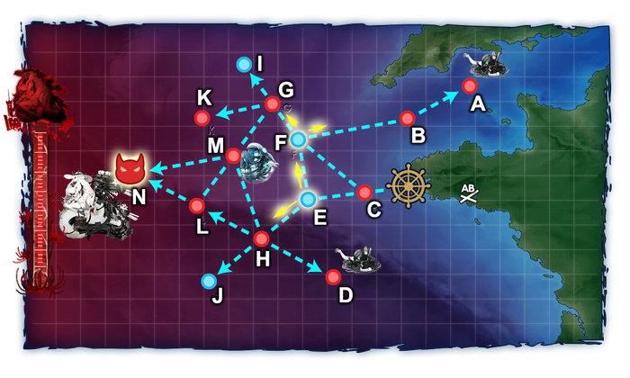 Sự kiện mùa Hè 2019 E-1 Map