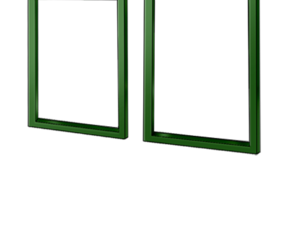 Simple window frame