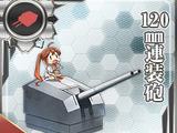 Pháo 2 nòng 120mm