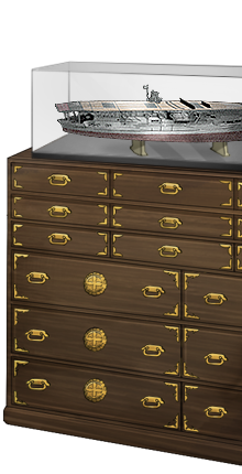 Kimono chest and Akagi model