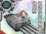 Ngư lôi 4 ống 61cm (Ôxy) Mẫu sau