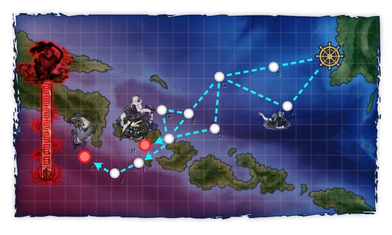 Map event E1