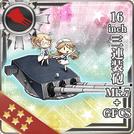 16inch Triple Gun Mount Mk.7 + GFCS 183 Card