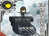 Pháo 3 nòng 15.5cm (phụ)
