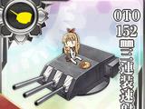 Pháo tốc xạ 3 nòng OTO 152mm