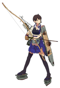 Kaga CG Damaged