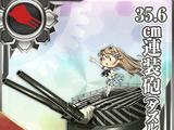 Pháo 2 nòng 35.6cm (Nguỵ trang)