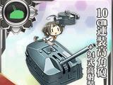 Pháo cao xạ 2 nòng 10cm + Trang bị cao xạ