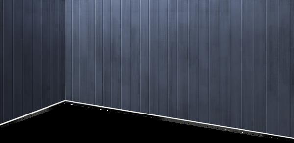 Battleship-style dark grey wall