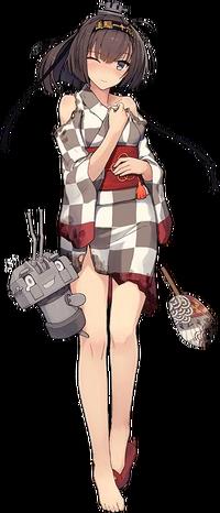 CG Akizuki Yukata Damaged