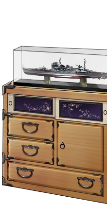 Kimono chest and Heavy cruiser model