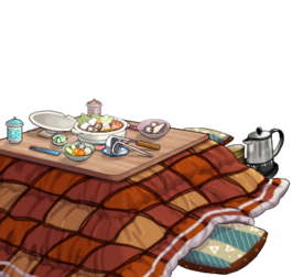 Prematurely evacuated Kotatsu