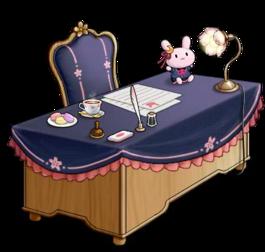 Uzuki's desk