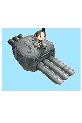 61cm Triple (Oxygen) Torpedo Mount Late Model 285 Full