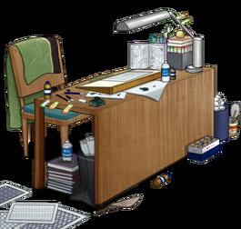 Manuscript desk