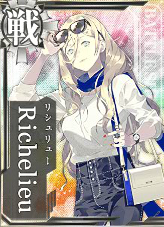 Richelieu Autumn Casual Card