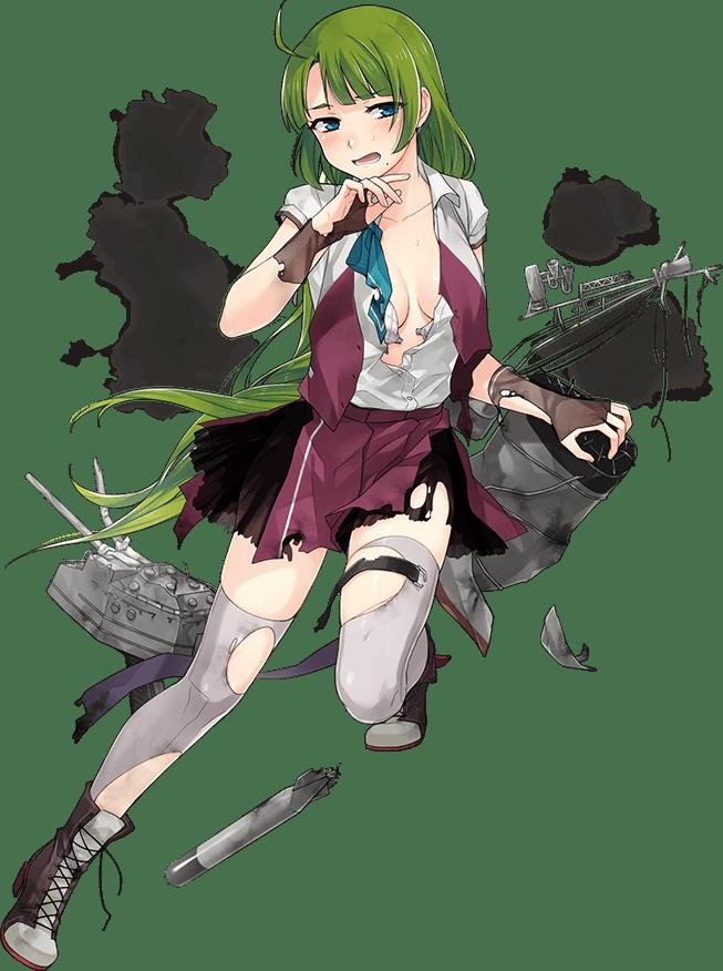 Yuugumo Kai Ni Summer Uniform Full Damaged