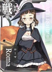 Roma Halloween Card