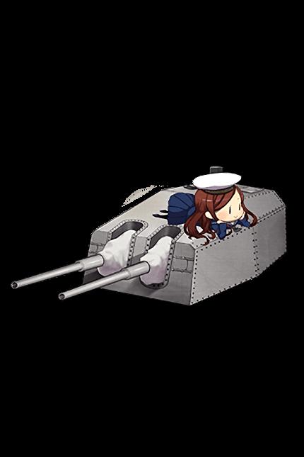 15cm Twin Secondary Gun Mount 077 Full