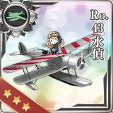Ro.43 Reconnaissance Seaplane 163 Card