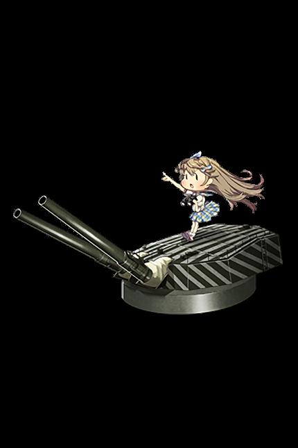 35.6cm Twin Gun Mount (Dazzle Camouflage) 104 Full
