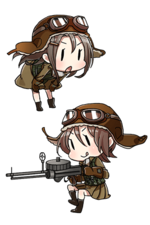 Type 96 Land-based Attack Aircraft 168 Character