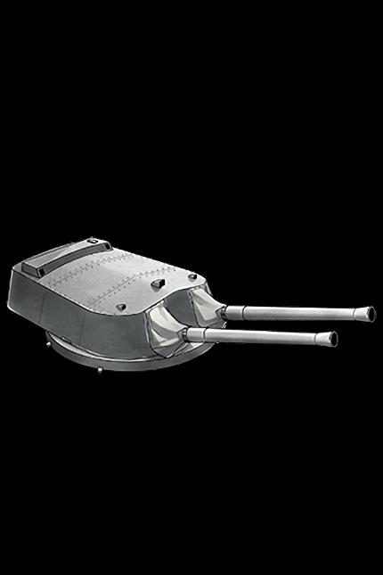 38.1cm Mk.I Twin Gun Mount 190 Equipment