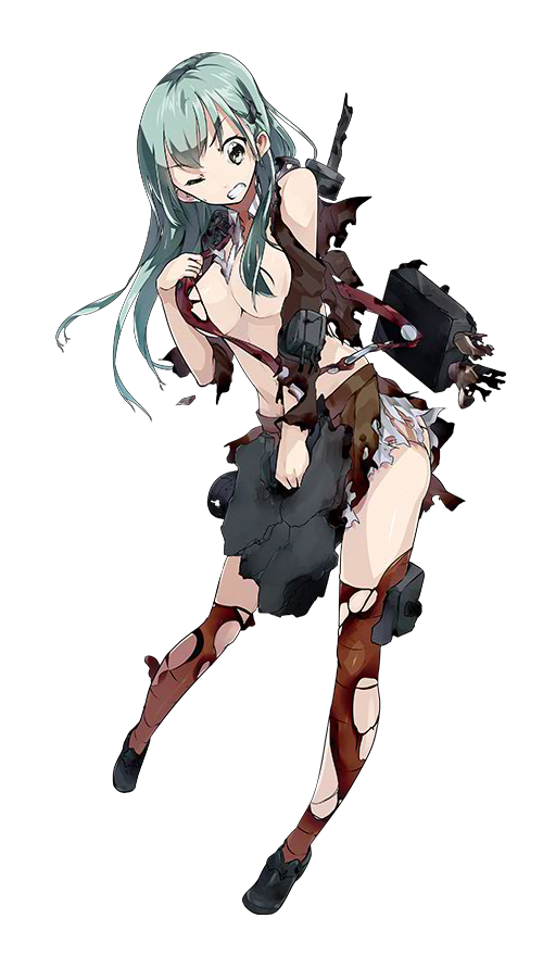 CAV Suzuya Kai 129 Full Damaged